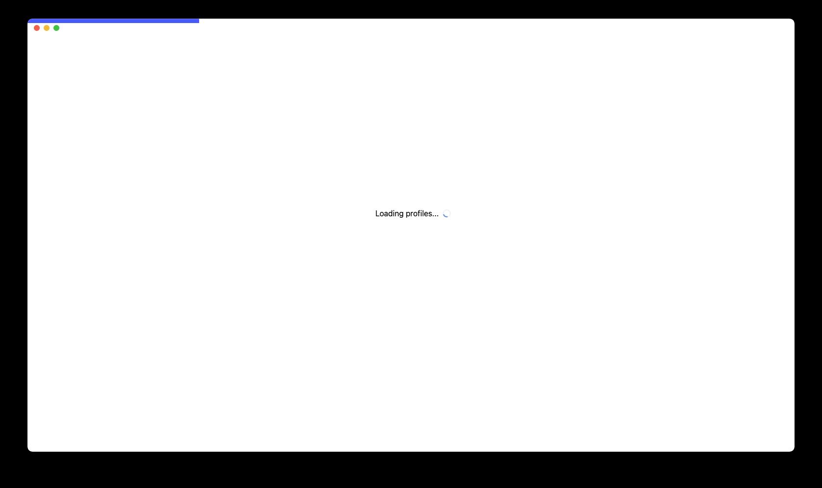 Dynobase profiles loading screen